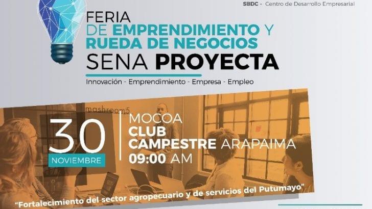 Feria de Emprendimiento y Rueda de Negocios SENA Proyecta.