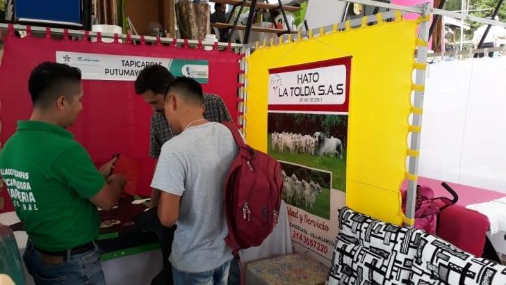 Feria de emprendimiento y rueda de negocios SENA Proyecta, se desarrolló con éxito en Mocoa