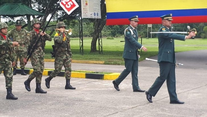 Batallón de Infantería General Roberto Domingo Rico Díaz tiene nuevo comandante