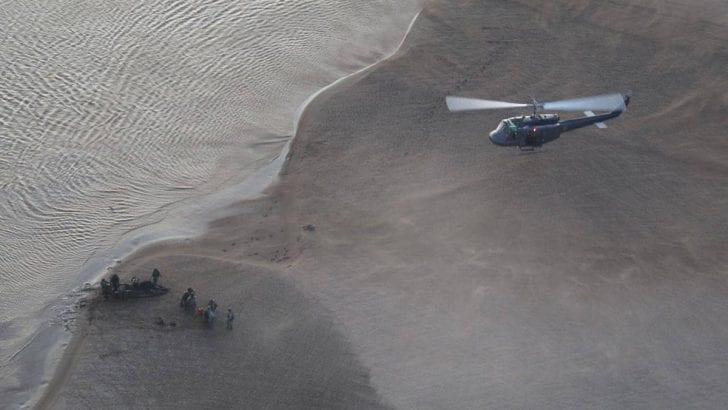 Por aire, agua y tierra autoridades persiguen a los deforestadores