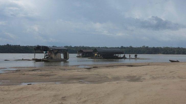 Más de 2.300 puntos de minería ilegal despedazan la Amazonia
