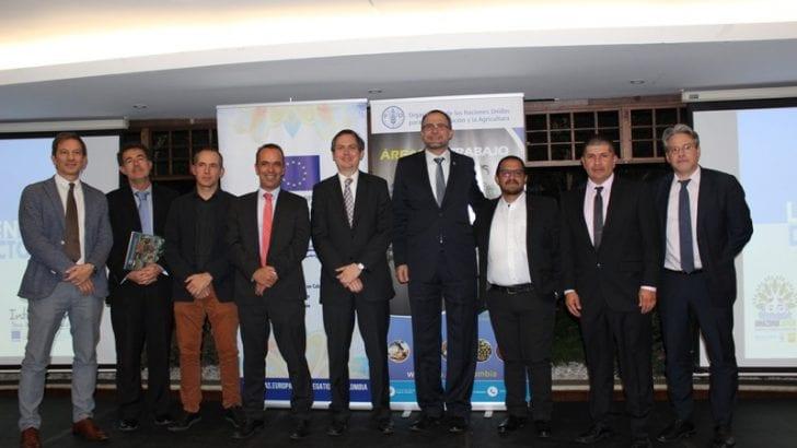 El Fondo Europeo para la Paz y la FAO presentan 3 proyectos para fortalecer comunidades en zonas de posconflicto.