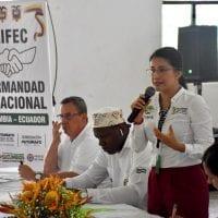 Encuentro Regional de Autoridades Binacionales Colombia – Ecuador