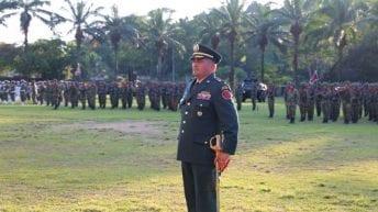 Asumió nuevo comandante de la Sexta División del Ejército Nacional
