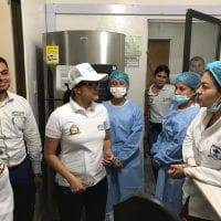 Gobernadora visita la E.S.E Hospital San Gabriel Arcángel