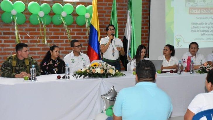 Gobernación construirá Coliseo Deportivo Cubierto, en La Hormiga, Valle del Guamuez