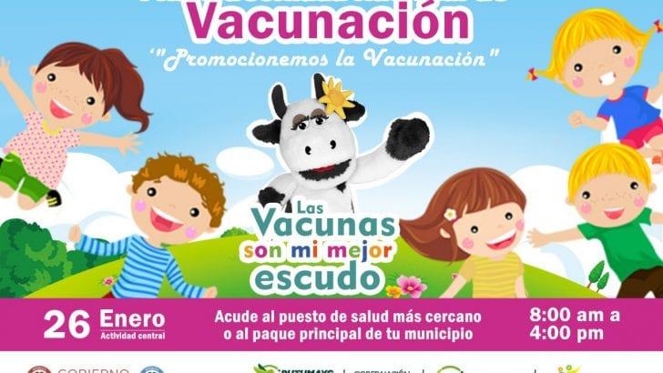 26 de enero: Primera Jornada Nacional de Vacunación 2019