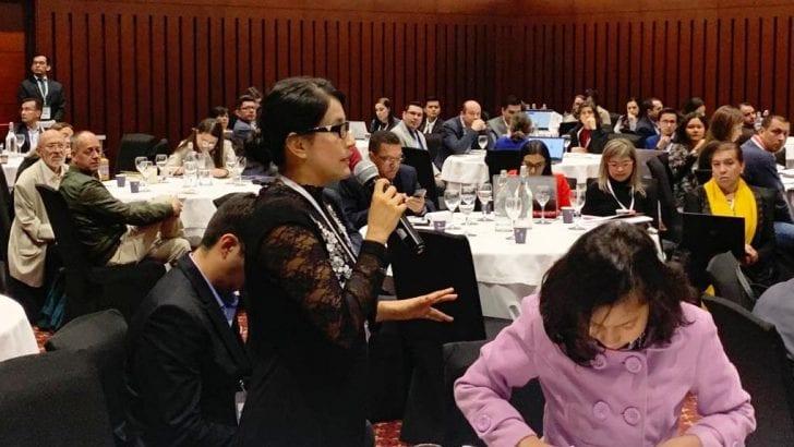 Gobernadora presente en Taller para acceder al programa 'Becas Bicentenario'
