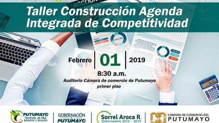 Taller construcción Agenda Integrada de Competitividad