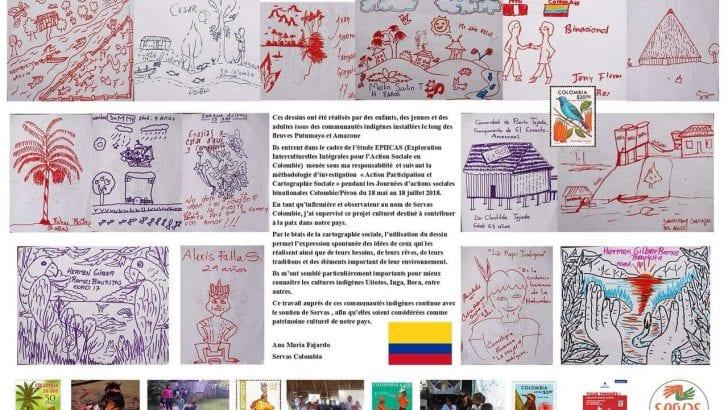 Arte indígena amazónico en Francia
