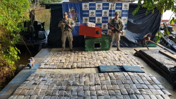 Incautados mas de 170 kg de marihuana en el Putumayo