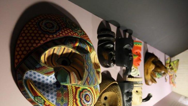 Máscaras que escriben la historia de pueblos indígenas
