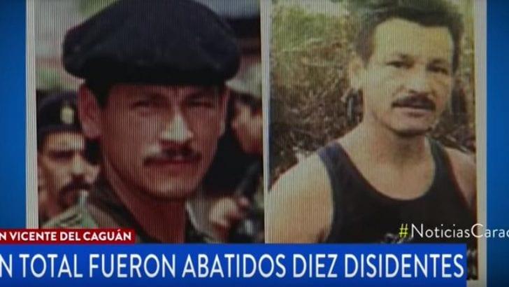 Abatido alias 'Rodrigo Cadete', el hombre más sanguinario del extinto bloque sur de las FARC