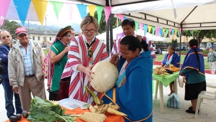 Delegación de la Unión Europea (UE) saboreó en Putumayo la receta de la paz