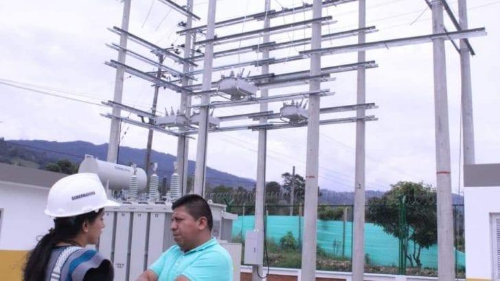 Subestación eléctrica del Valle de Sibundoy pronto estará lista