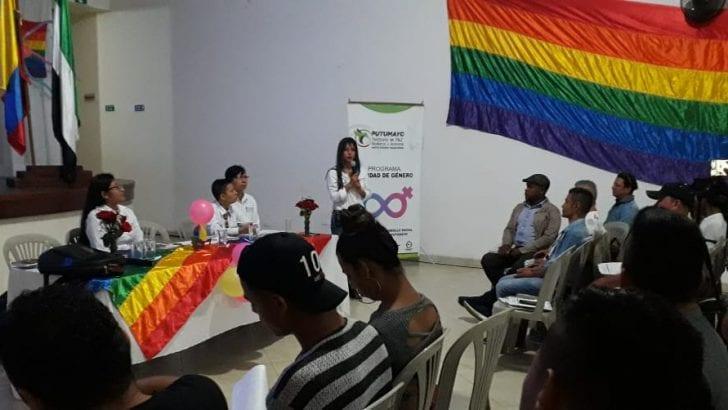 Capacitación empresarial y personal a población LGTBI del Putumayo