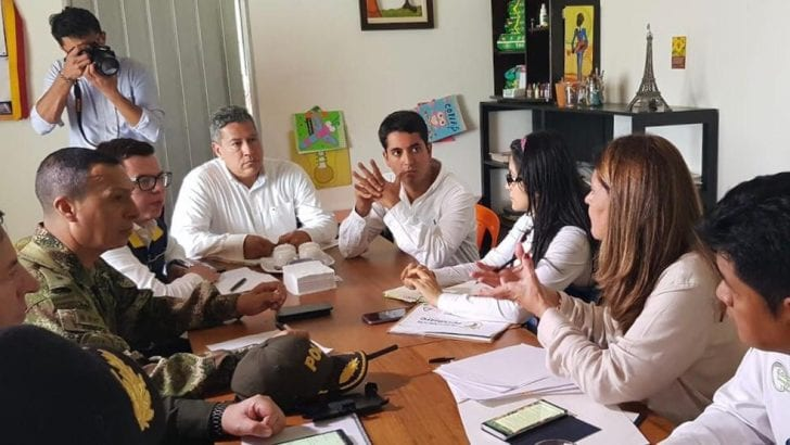 Viepresidenta Martha Lucía Ramirez visita Mocoa y revisa puntos de inversión en Mitigación con Gobernadora y Alcalde de Mocoa