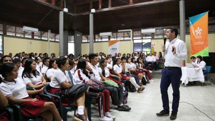 El Director Nacional de Empleo y Emprendimiento del SENA, incentivó a los putumayenses a emprender en Economía Naranja