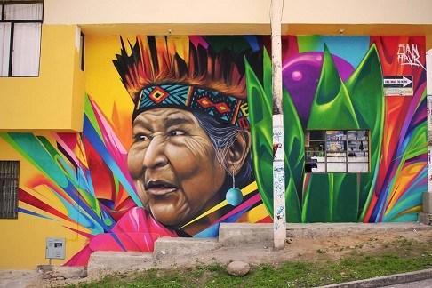 Artistas de Colombia llenan de Colores el Municipio de Sibundoy