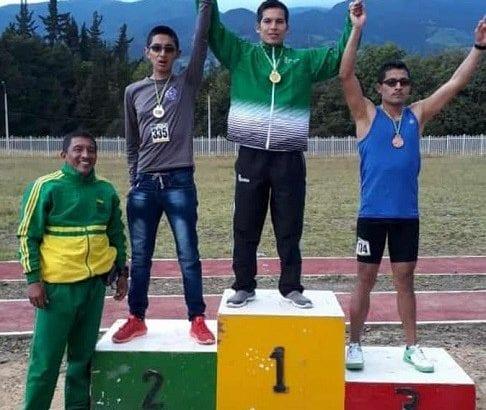 Atleta de Oro Tiene Putumayo en Velocidad