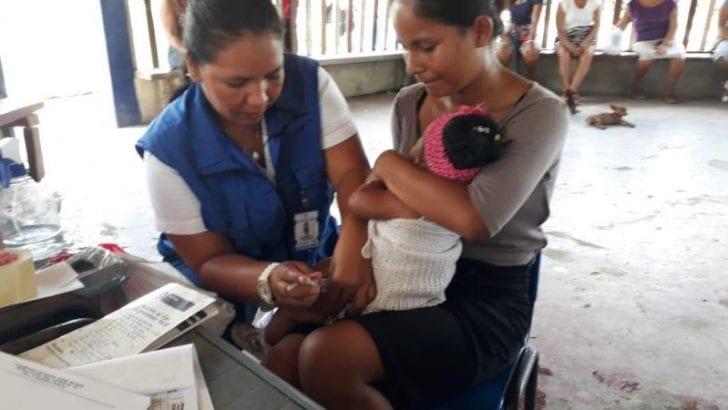 Putumayo reconocido a nivel nacional por coberturas de vacunación