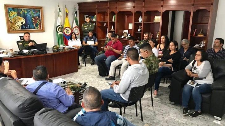 Consejo de seguridad ampliado frente a Minga Indígena