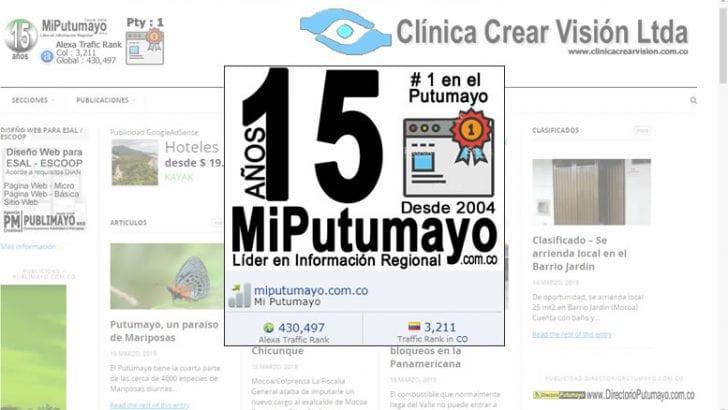 MiPutumayo.com.co – 15 años