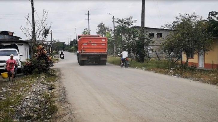 Mejoramiento en vias del Bajo Putumayo