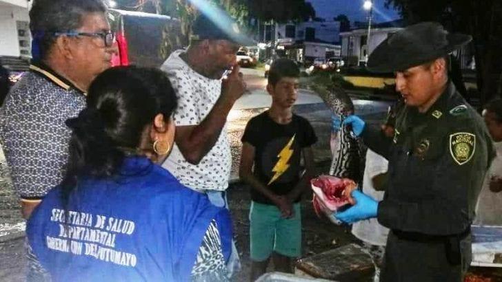 Incautados 40 kg de pescado en controles con ocasión del inicio de la Semana Mayor