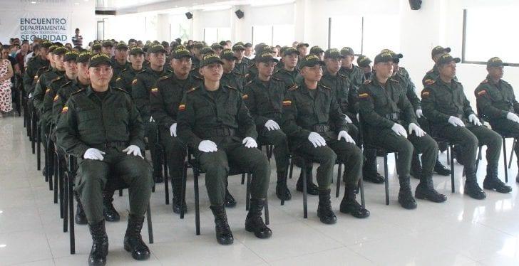 Juramento a la Bandera de 41 nuevos Auxiliares Bachilleres de la Policía en el Putumayo