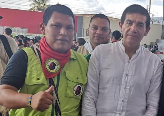El Líder Indígena que trajo al Viceministro del Interior a la Minga Putumayo