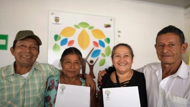 En la Semana de las Víctimas, beneficiarios de restitución de Putumayo recibieron predios a manera de compensación
