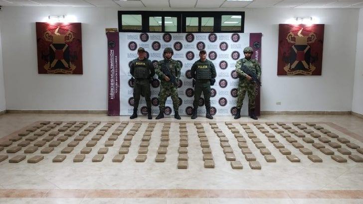 Policía decomisa 165 kilos de clorhidrato de cocaína que iban para el Ecuador