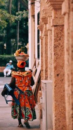Mujer de Cartagena