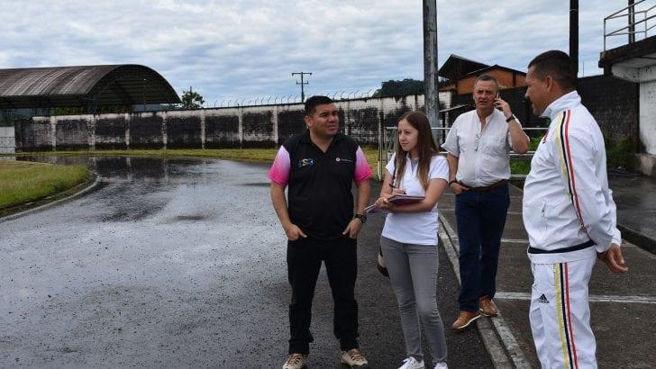 Avanza en Mocoa la visita de verificación para Juegos Binacionales 2019⚽️🇨🇴🇪🇨✅