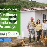 $6.000 millones se invertirán en vivienda rural del Putumayo