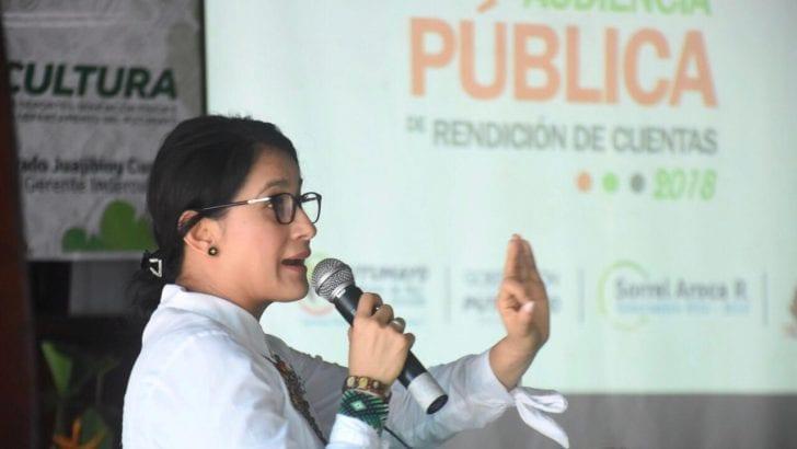 En Valle del Guamuez, Gobernadora rinde cuentas de la vigencia 2018