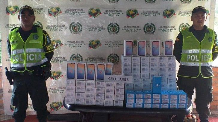 La Policía Nacional en el Putumayo incrementa controles al comercio ilegal de celulares