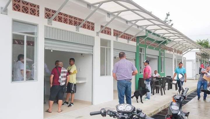 Orito cuenta con renovada plaza de mercado