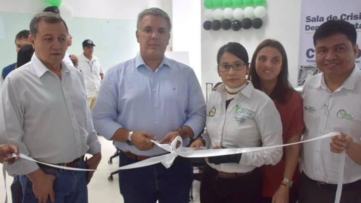 Putumayo cuenta con moderna Sala de Crisis Departamental
