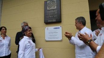 El Presidente Iván Duque y el Ministro de Ambiente entregan en la Amazonia colombiana nueva sede para la innovación y sostenibilidad ambiental del país