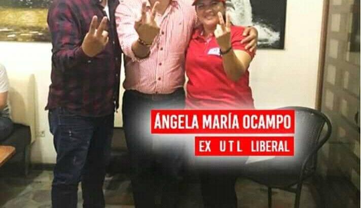 Angela María Ocampo apoya a Buanerges Rosero a la Gobernación del Putumayo