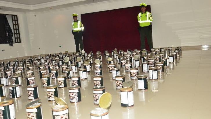 300 kilos de marihuana fueron incautados mediante acciones de registro y control