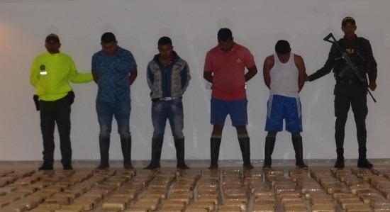 Incautan 476 kilos de marihuana en el Putumayo