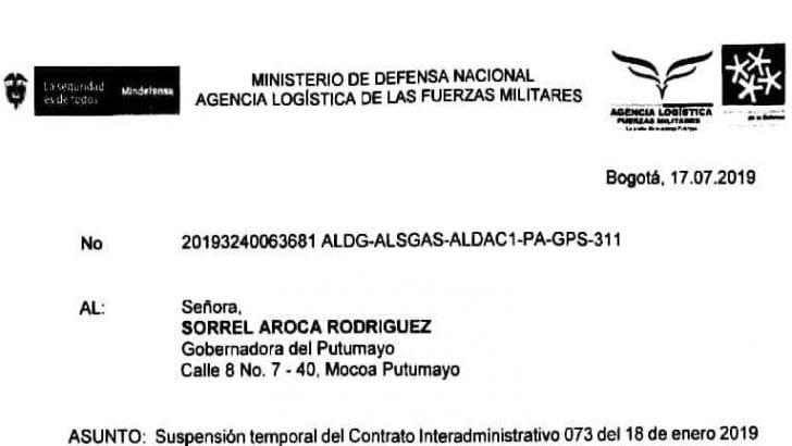 El PAE en el Putumayo se suspende Temporalmente por falta de pago de la Gobernación a la ALFM