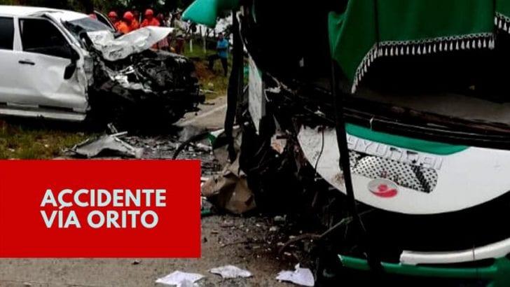 Accidente en la vía Santana – Orito