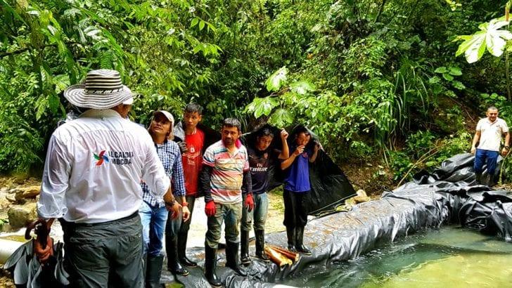 Hemos avanzado mucho en la estabilización del Servicio de Agua en Mocoa