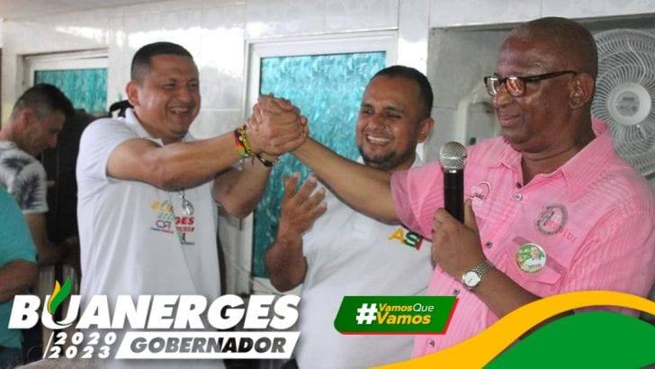 Alirio Martinez Vega reafirma su compromiso con Buanerges Rosero