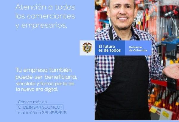 Mas de 200 Comerciantes y Empresarios de Mocoa beneficiarios del Centro de Transformación Digital Empresarial