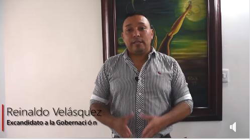 Conoce las razones por las que Reinaldo Velasquez decidió respaldar a Buanerges Rosero